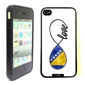 diy phone casePink Ladoo? ipod touch 4 Case Phone Cover Bosnian Love Bosnia Flag Infinity Lovediy phone case