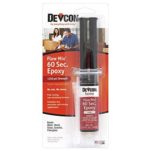 devcon-21445-flow-mix-60-second-epoxy-14-ml-syringe