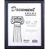 3 Pk, BAZIC Document Frame with Black Border, 8.5 x 11 Inch