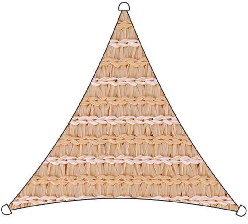 Toldo Vela Triángulo Bloque UV Permeable Durable para Al Aire ...