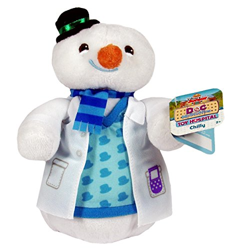 Disney Junior DOC McSTUFFINS Toy Hospital CHILLY Plush 8