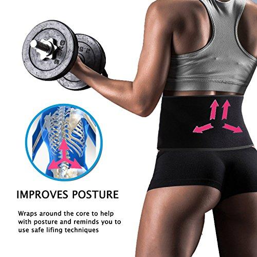 9b966139db3 BIGFeng Waist Trimmer Belt Back Support Adjustable Abdominal Elastic Waist  Trainer Slimming Body Shaper Belt Sport