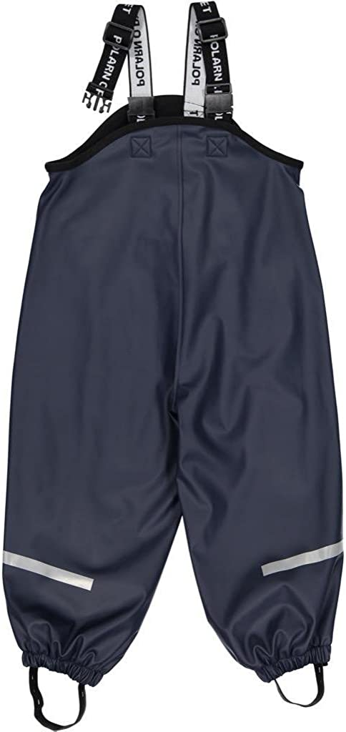 Polarn O. Pyret Fleece Lined Waterproof RAIN Pant (6-8YRS)