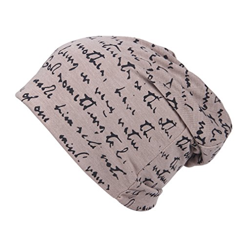 Smile YKK The Full Alphabet Stretch Soft Slouchy Beanie Hat Cap