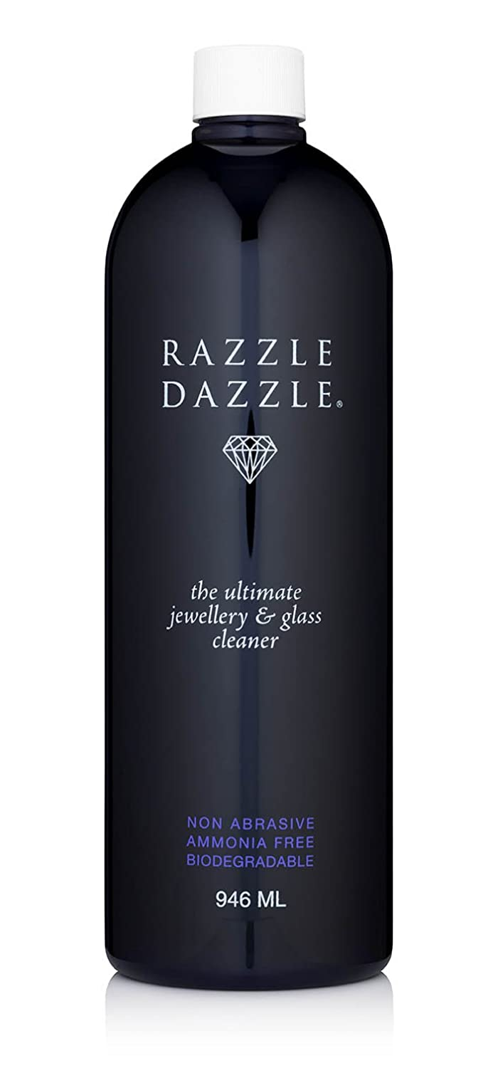 Razzle Dazzle Jewellery & Glass Cleaner 946ml, (32 Oz).