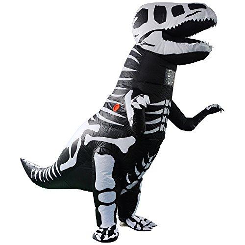 T-Rex Costume Inflatable Dinosaur Costume Halloween Adult Inflatable