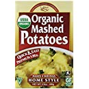 Edward & Sons Organic Mashed Potatoes, Home Style, 3.5-Ounce Boxes (Pack of 6)