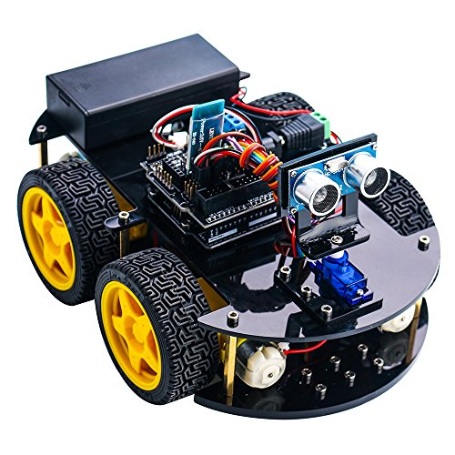 Elegoo for arduino project smart robot car kit with four