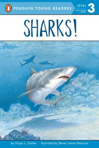 Sharks! (All Aboard Reading)