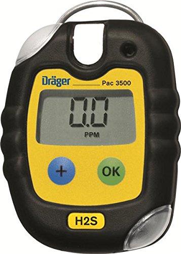 Draeger Pac 3500 Single Gas Detector