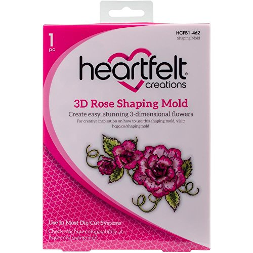 Heartfelt Creations 3D Shaping Mold Rose, HCFB1 -   462