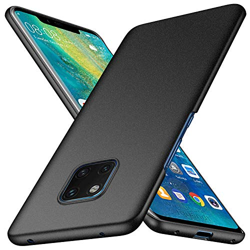 Huawei Mate 20 Pro Case, Almiao [Ultra-Thin] Minimalist Slim Protective Phone Case Back Cover for Huawei Mate 20 Pro (Matte Gray)