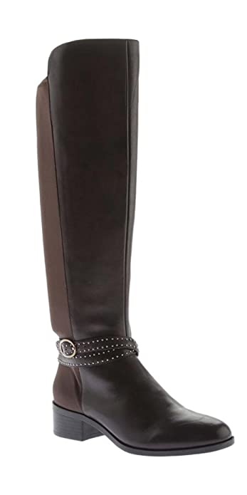 94b783ea14a Bandolino Women's Dark Brown Bryices Knee High Boot