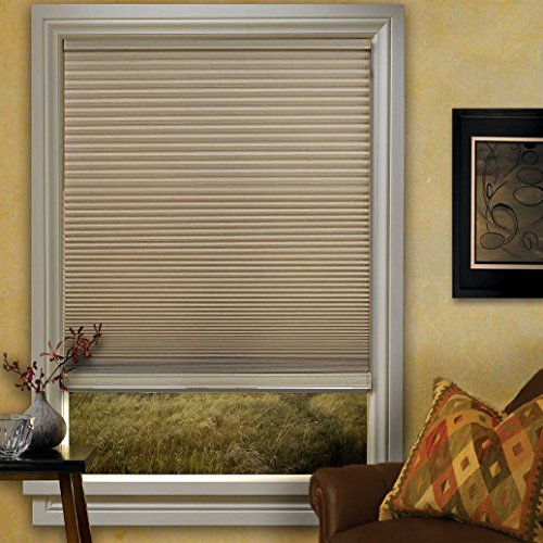 Window Blind Store Cordless Double Cellular Shade Soft Linen 23x48