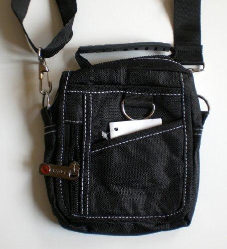 Black Shoulder Belt All Purpose Canvas Men SMALL Bag Special Discount Sale, Outdoor Stuffs