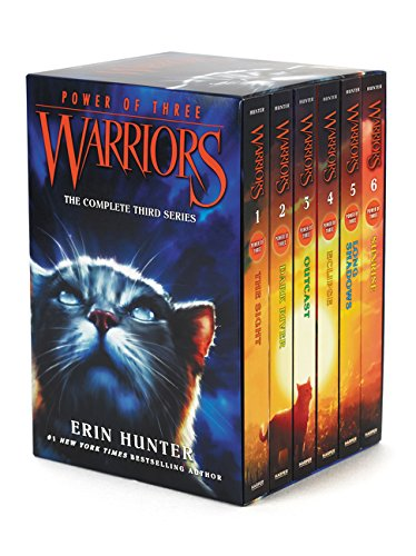 Warriors: Power of Three Box Set: Volumes 1 to 6 by Harpercollins