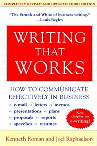 Writing That Works- Book Summary by writestation.com