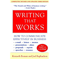 Writing That Works, 3rd Edition: How to Communicate Effectively in Business (English Edition)