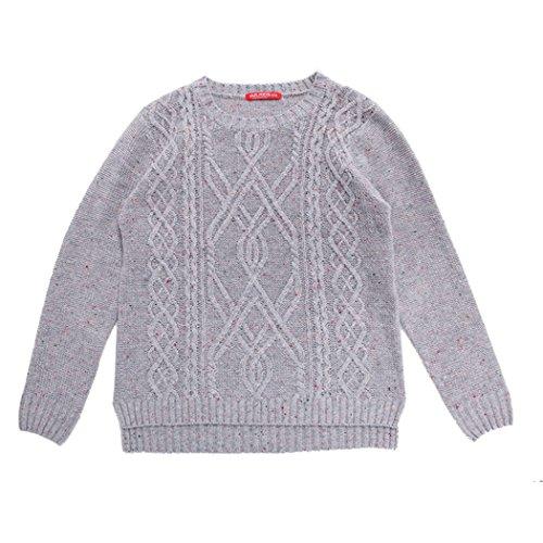Pattern Sweater Kids (JJLKIDS Winter Boys Pullover Twist Pattern Vintage Knitwear Kids Pattern Sweater Jumper Solid Warm)