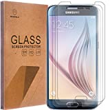 [3-PACK]- Mr Shield For Samsung Galaxy S6 [Tempered Glass] Screen Protector [0.3mm Ultra Thin 9H Hardness 2.5D Round Edge] with Lifetime Replacement Warranty