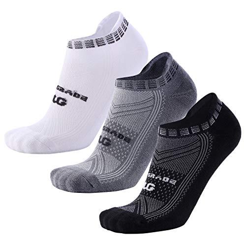 Running Socks Moisture Wicking No-Show Low Cut Anti-Blister Athletic Socks for Men Women