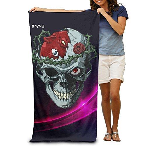 ginar-300g-berserk-skull-absorbent-luxury-beach-towel