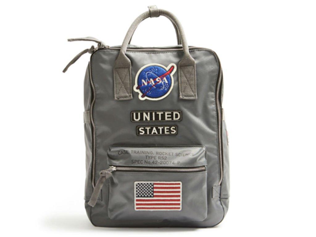 Red Canoe - NASA Backpack   U-BAG-NASABP-GY