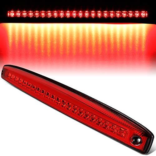 Red Housing Full LED Rear Center Tailgate Lamp Brake Light for 03-06 Dodge Ram Truck 2500 3500 ()