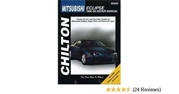 Mitsubishi eclipse 1990 98 chilton repair manuals chilton mitsubishi eclipse 1990 98 chilton repair manuals chilton 9780801989575 amazon books fandeluxe Image collections