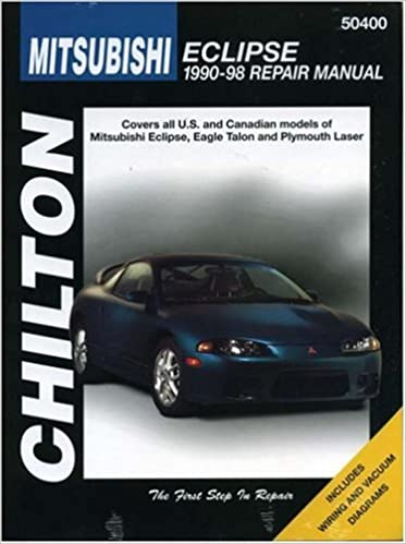 Mitsubishi eclipse 1990 98 chilton repair manuals chilton mitsubishi eclipse 1990 98 chilton repair manuals 1st edition fandeluxe Image collections