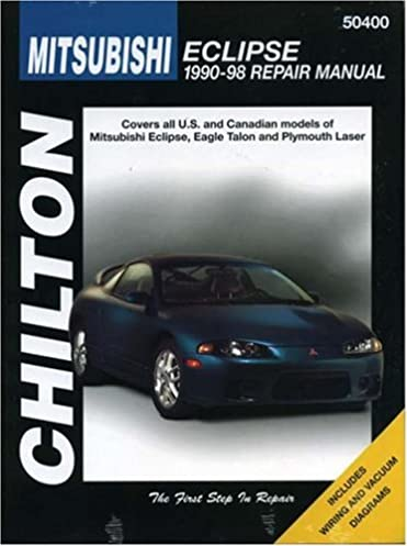 mitsubishi eclipse 1990 98 chilton repair manuals chilton rh amazon com 96 Mitsubishi Eclipse 98 Mitsubishi Eclipse GSX Specs