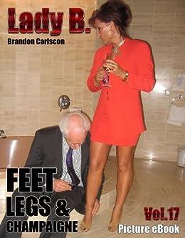 Lady b feet photos