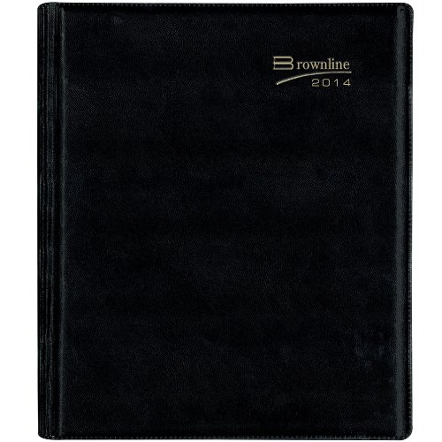 Rediform Brownline 2014 Weekly Refillable Planner, Twin-W...