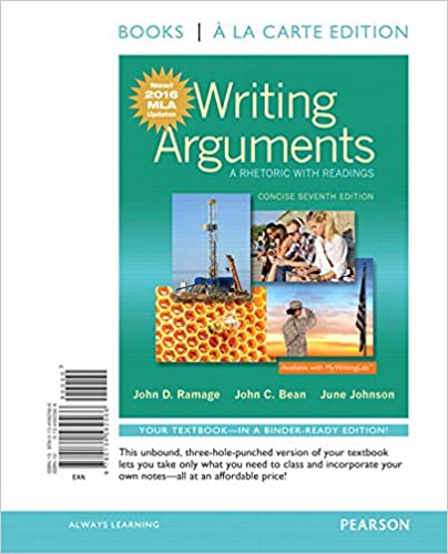 Amazon writing arguments a rhetoric with readings concise writing arguments a rhetoric with readings concise edition books a la carte edition mla update edition 7th edition 7th edition fandeluxe Image collections