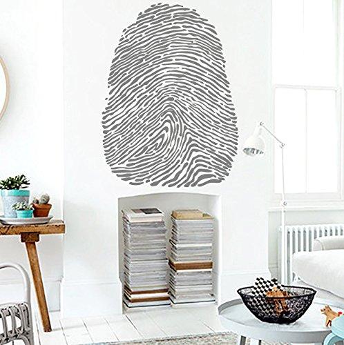Wall Vinyl Sticker Decal Human Fingerprint Nursery Room Nice Picture Decor Mural Hall Wall Ki693