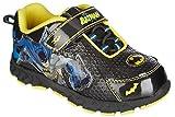Dc Comics Batman Children's Athletic Shoes Light-up Black/blue & Yellow (10-Toddler)