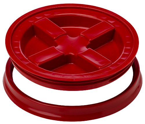 Gamma Seal Lid - Red - Threaded Lid