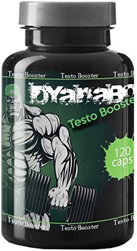 Dyanabol Testo Booster 120 Kapseln Natürlicher Testosteron Booster Bodybuilder Männer Markenartikel Hochdosiert...