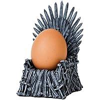 HomeZone Trône Coquetier Jeu de Thones Style Support pour œufs Fer Chaise Réplique Miniature Cadeau Fantaisie Cadeau Table Décoration de Maison