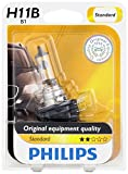 2010 sonata headlight - Philips 12363B1 H11B Standard Halogen Replacement Headlight Bulb, 1 Pack