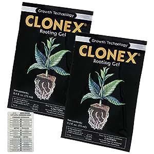 2Paquetes De Paquetes De Gel Clonex raíces 15ml + doble tabla de Canarias