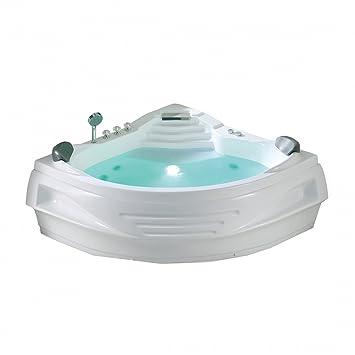 Jacuzzi indoor  Whirlpool - indoor Jacuzzi - Sprudelbad - Spa - Badewanne eckig ...