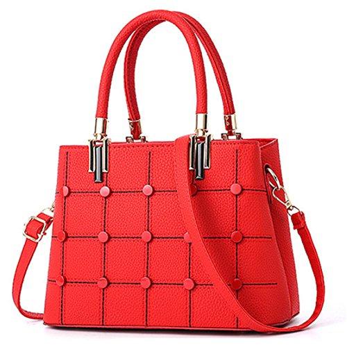 Borse Molte Spalla Con Il Mini Leggeri Di rosso Della Donna Sacchetto Croce Per Donne Comoda Viaggiare rwOqIBr