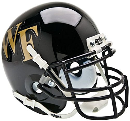 NCAA Wake Forest Demon Deacons Collectible Mini Helmet (Mini Forest Wake)