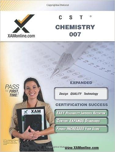 NYSTCE CST Chemistry 007 (XAM CST (Pdf))