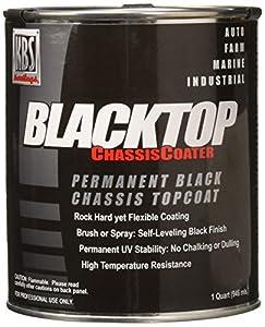 KBS Coatings 8402 OEM Satin Black BlackTop Chassis Paint - 1 Quart