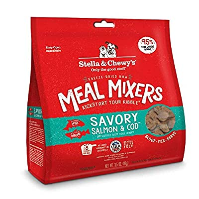 Stella & Chewys Freeze-Dried Savory Salmon & Cod (Pack of 3)