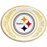 Siskiyou Gifts Co, Inc. NFL Pittsburgh Steelers 2 Toned Buckle