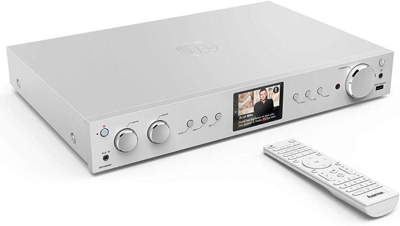 Hama Dit2100msbt Digital Hifi Tuner Internet Radio Dab Elektronik