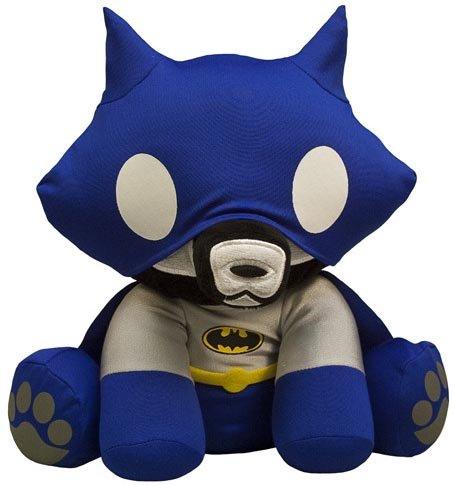 Superman Secret Identity Costume (Toynami Skelanimals DC Mini Plush - Batman Jae)